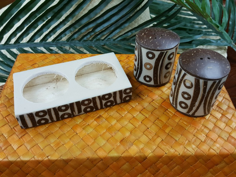 COCONUT SHELL S&P SET